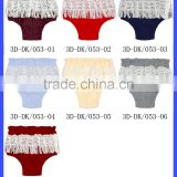 Wholesale Soft Infant Clothes Plain Color Tassels Toddle Girls Free PP Pants Newborn Baby Beach Shorts