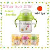 Japan Baby Straw Mug Green From around 8 months 270ml Wholesale