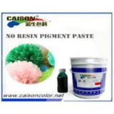 aqueous pigment dispersion for tinting liquid pigment color paste, Green water based pigment paste