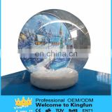 Christmas inflatable snow ball/X-mas inflatable snow dome 2015