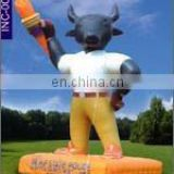 Basava cow inflatable