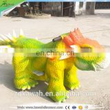 Kawah Rubber Material Animal Scooter Outdoor Attractive Coin Operated Dinosaur Rides For Sale