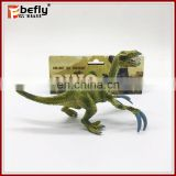 Lifelike small dinosaur Therizinosaurus plastic figure toy
