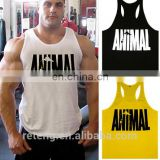 custom mens T & Y Back Bodybuilding Singlet / Stringer / gym Singlet /printed GYM tank tops