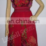 WOMAN LONG DRESS COVERUP GOWN