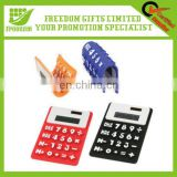 New Custom Logo Promotional Printed Soft Calculator