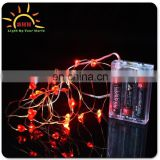 Custom promotional light up led Copper Wire String Lights