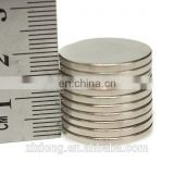 20 x 2mm Disc Silver Rare Earth Neodymium Super Strong Magnets Neodymium Permanent Magnet N30
