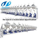 Starch hydrocyclone separator