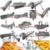 Semi- automatic Fried Potato Chips Production Line  French Fries Making Machine Frozen Fries Processing plant