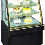 Small Refrigerated Display Marble Cabinet Automatically Defrost System
