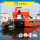 2017 newly 18 inches sand pumping machine cutter suction dredger price