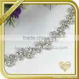 Fashion rhinestone chain and banding bling crystal rhinestone chain bulk FC646