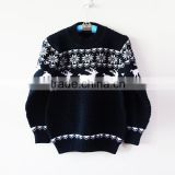 Kids Boys Blue Sweaters Pullovers Winter Underwear Sweaters