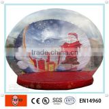New Product 2014 Giant Inflatable Christmas Snow Globe
