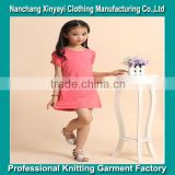 New design baby dress in world cup 2014/dresses for girls of 7 years old from China garment factory/red bodycon dress