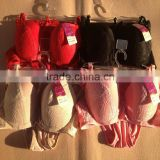 1.25USD Newest Coming High Quality Hot Embroidery Style Ladies Sexy Fancy Bra Panty Set ,4 Colours/36-40C Cups(kctz018)