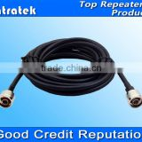 communication cables 10meters with 2 N-female connectors 5D jumper cable for mobile signal repeater use