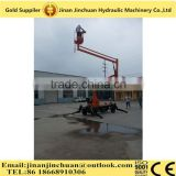 aerial work platform, articulated boom lift for work on urban road, suburban road, highway, airport, bridges