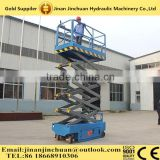 Self-propelled mobile lift platform/hydraulic man lift for cleaning window and fixing street light