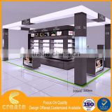 Factory Direct Wholesale cosmetic showcase shelf dignity cosmetic display cabinet