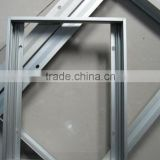 6063 T5 extruded aluminum frame for pv solar module