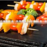 See larger image Custom Packing Reusable Teflon PTFE BBQ Grill Mat , High Quality Grilling Mat Factory , Non Stick Barbeque Mat