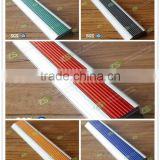 new design decorative anti-slip rubber stair nosing D40