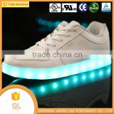 2016 China wholesale LED flashing casual woman shoe cheap sports shoe manufacturer                                                                         Quality Choice