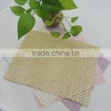 guangzhou glitter fabric with hole for pu chappal                                                                         Quality Choice