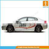 Customized Car sticker, pvc vinyl sticker, beautiful car sticker