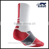 Long design red world cup football socks for kid youth