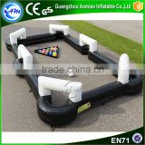 Inflatable snooker football,inflatable pool table pingpong pool, inflatable table tennis for sale