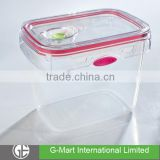 1250ML Cheap New Design Food Storage Container with Silicon Valve,Vacuum Food Storage Containers