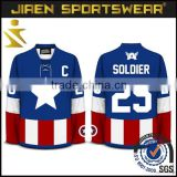 High Quality Soccer Training bibs sportswear ice hockey jersey team canada hockey jersey