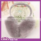 2014 Hot-Sell Rabbit Fur Ear Muff for winter
