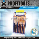 10pcs Center Punches and Chisels set