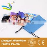 OEM fashion eyeglass case, colorful sunglasses pouch, microfiber wristband phone pouch