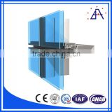 For Furniture Cabinet Window Curtain Wall Interior Outdoor Aluminum Profile Extrusion Accessories