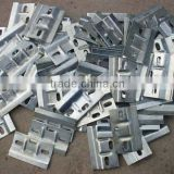 Galvanized metal hardware parts/corner brace/metal bracket/steel stamping hardware parts