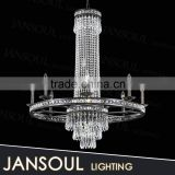 antique silver crystal candelabra chandelier made in guangdong zhongshan wrought iron chandelier for sale