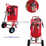 Sandblasting Pot/mini vacuum sandblaster/sandblast cleaning machine HS code is 84243000, 84249090, 8480710090, 84254910