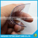 CR80 printing transparent inkjet pvc card, transparent business card                                                                         Quality Choice