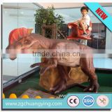 coin operated battery kiddie animal electric horses ride for shopping mall                                                                         Quality Choice