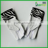 fashion Zebra-stripe kip leather baseball glove