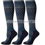 17Year Factory Sports Knee High 15-20mmHg Graduated Compression Socks                                                                         Quality Choice