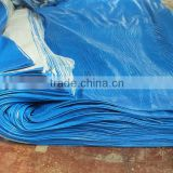 PP/PE/PVC tarpaulin for cover high density polyethylene strip hem pp rope triangle plastic corner reinfocred edge waterproof