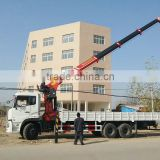 DTA IVECO FOTON-FAW Dongfeng truck Customizing truck with loading crane(10~30 tons) truck mounted crane / Call:86-15271357675