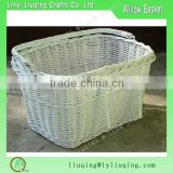 China Cheap hot sale product wonderful wicker bike basket