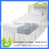 Lab certified organic cotton allergen free breathable phthalate free strech to fit mattress cover